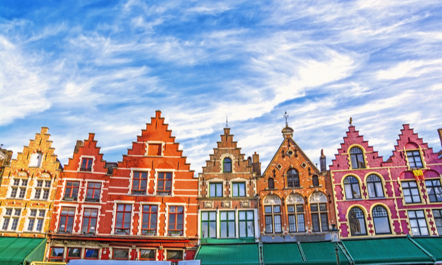 bruges self guided walking tour