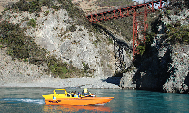 Scenic Helicopter Flight and Jetboat Adventure